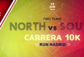 Castellana Motor (Norte) vs Valderribas Motor (Sur) 10K RUN MADRID